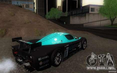 Maserati MC12 GT1 para visión interna GTA San Andreas