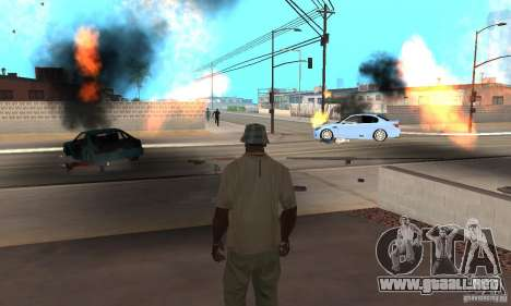Hot adrenaline effects v1.0 para GTA San Andreas décimo de pantalla
