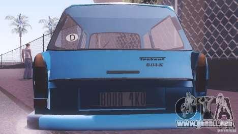 Trabant 601S para la visión correcta GTA San Andreas