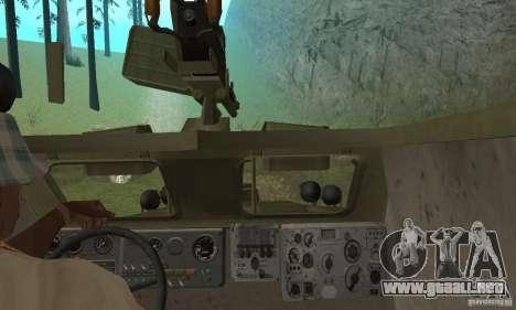 BRDM-1 piel 3 para visión interna GTA San Andreas