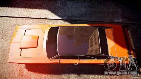 Deportivo Dodge cargador RT 1969 tun v1.1 para GTA 4 visión correcta