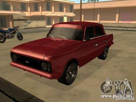 AZLK 412 IE para GTA San Andreas