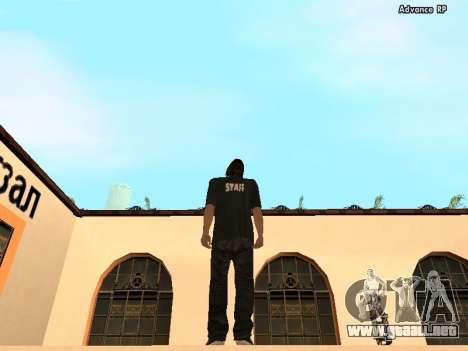 HD pieles personal para GTA San Andreas segunda pantalla
