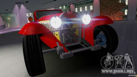 Bugatti Type 41 Royale Coupe Napoleon 1927 para GTA 4 Vista posterior izquierda