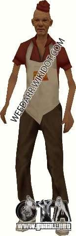 Salchicha de hombre para GTA San Andreas segunda pantalla