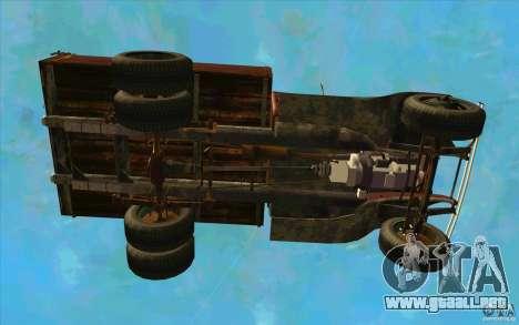 GAZ-AA para la vista superior GTA San Andreas