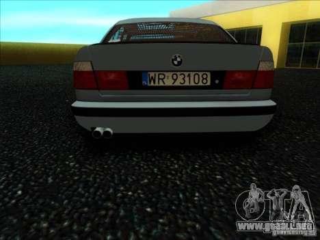 BMW 5 series E34 para la visión correcta GTA San Andreas