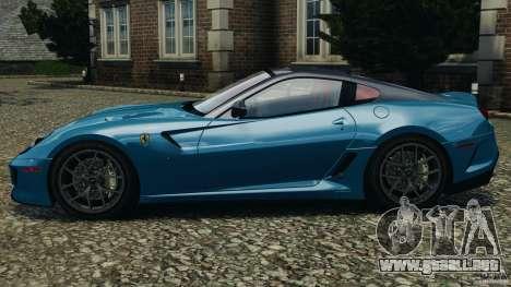Ferrari 599 GTO 2011 para GTA 4 left