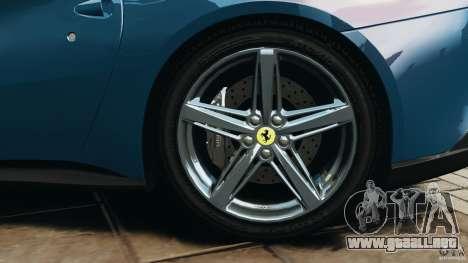 Ferrari F12 Berlinetta 2013 [EPM] para GTA 4 vista superior