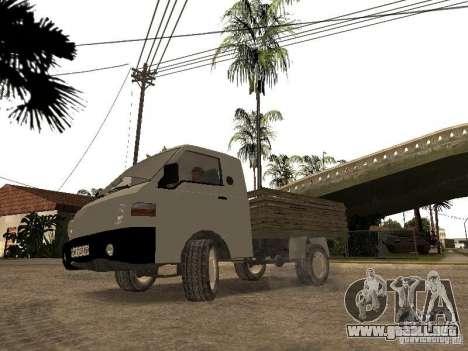 Tablero de Hyundai Porter para GTA San Andreas vista hacia atrás