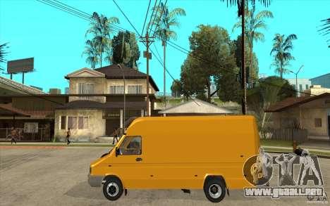 Iveco Turbo Daily para GTA San Andreas left