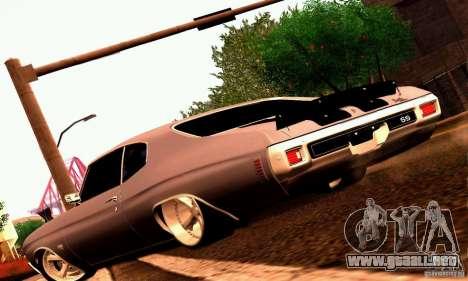 Chevrolet Chevelle 1970 para el motor de GTA San Andreas