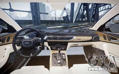 Audi A6L para GTA 4 left