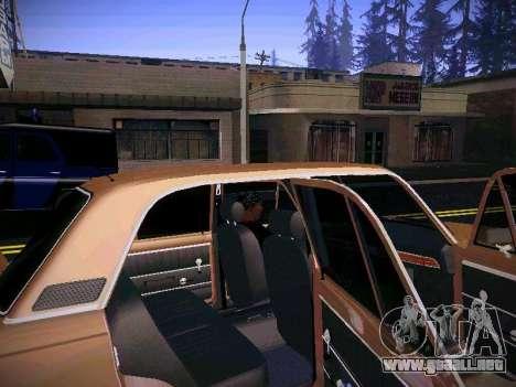VAZ 21011 para visión interna GTA San Andreas