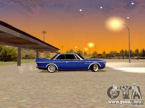 BMW 30 CSL Drift para GTA San Andreas left