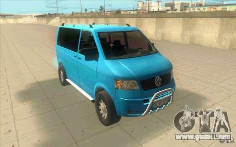 Volkswagen Caravelle para GTA San Andreas