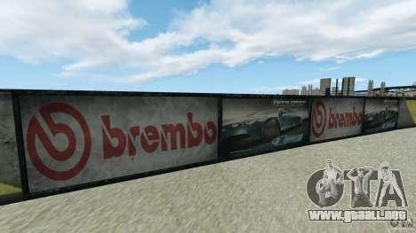 Dakota Raceway [HD] Retexture para GTA 4 sexto de pantalla