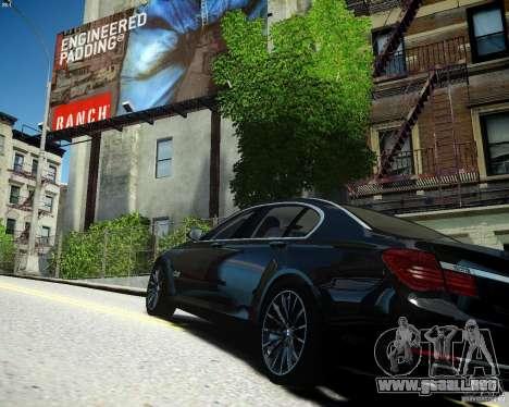 BMW 750Li 2013 para GTA 4 left