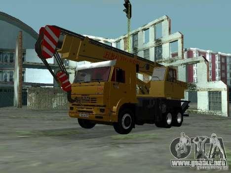 KAMAZ 65117 Ivanovets para GTA San Andreas left