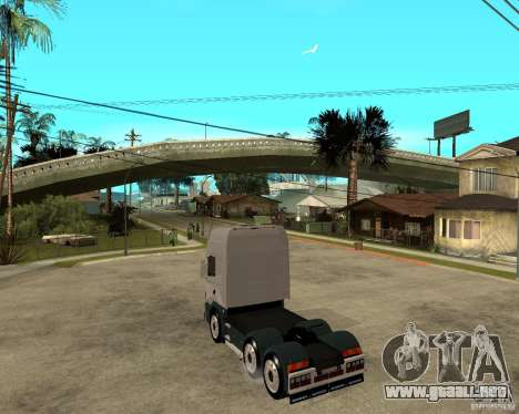 Scania 164L 580 para GTA San Andreas left