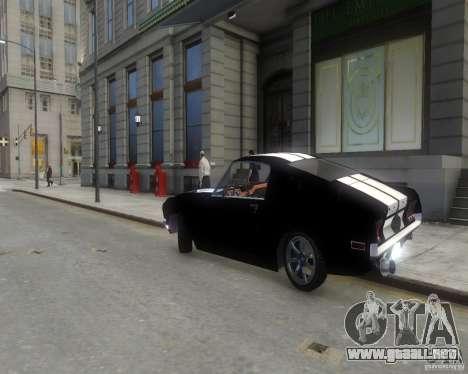 Ford Mustang Tokyo Drift para GTA 4 visión correcta