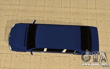Mercedes-Benz S600 Pullman W220 para la visión correcta GTA San Andreas