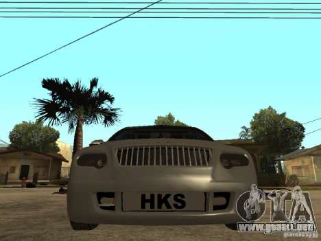 Skoda Octavia Custom Tuning para la visión correcta GTA San Andreas
