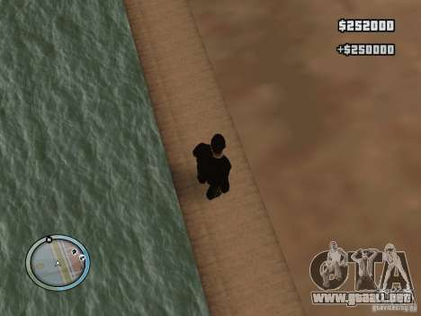 New GTA IV HUD 1 para GTA San Andreas