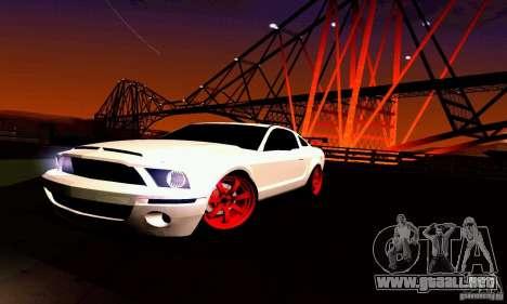 Shelby GT500 KR para el motor de GTA San Andreas