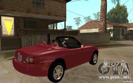 Mazda MX5 - Stock para la visión correcta GTA San Andreas