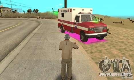 SpecDefekty para GTA San Andreas sucesivamente de pantalla