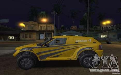 Bowler Nemesis para GTA San Andreas left