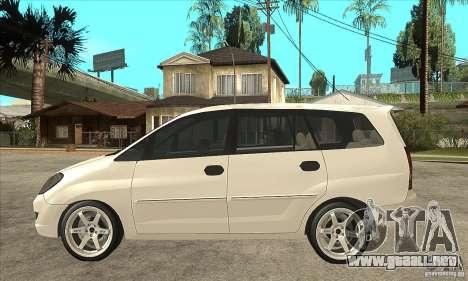 Toyota Innova Lowrider Rims 2 para GTA San Andreas left