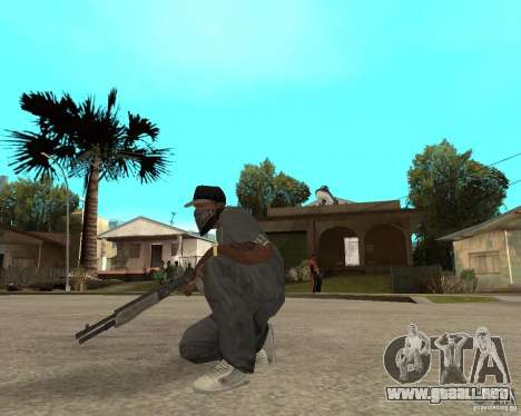 SPAS-12 para GTA San Andreas tercera pantalla