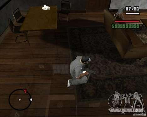 Ump 45 HD para GTA San Andreas tercera pantalla