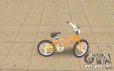 K2B Ghetto BMX para GTA San Andreas left