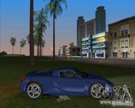 Porsche Carrera GT para GTA Vice City left