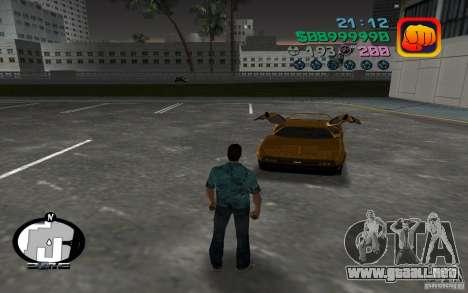 Delorean DMC-13 para GTA Vice City left