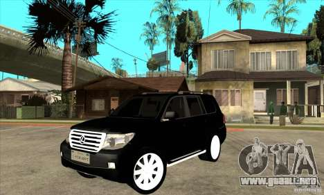 Lexus LX 570 2010 para GTA San Andreas