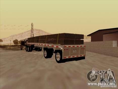 Trailer Artict1 para GTA San Andreas vista posterior izquierda