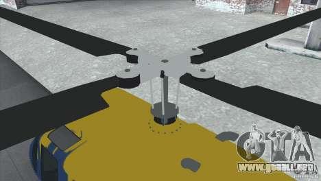 GTA IV News Maverick para GTA San Andreas left