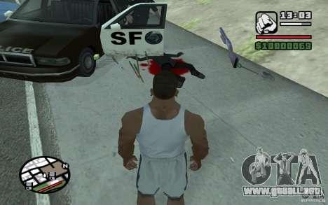 Tirando palas para GTA San Andreas segunda pantalla