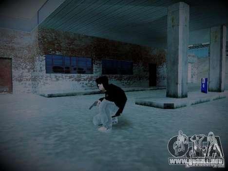 Valera MOD para GTA San Andreas sucesivamente de pantalla