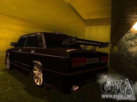 VAZ 2107 X-estilo para GTA San Andreas left