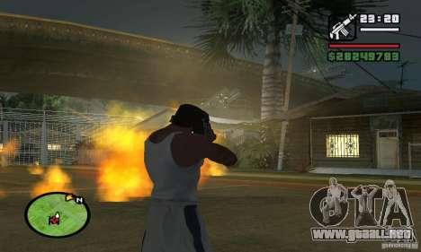 Base GROOVE Street para GTA San Andreas sexta pantalla