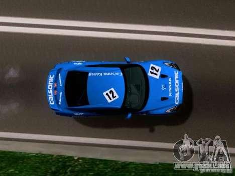 Nissan GTR 2010 Spec-V para la visión correcta GTA San Andreas