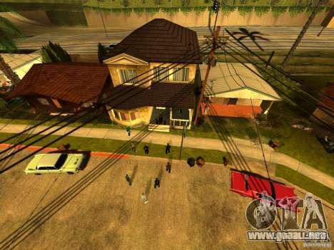 Área de fiesta para GTA San Andreas
