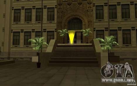 Fuerzas especiales-CJ para GTA San Andreas segunda pantalla