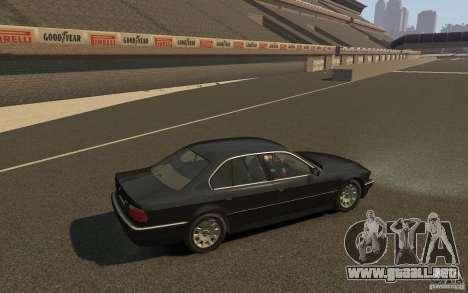 BMW 750i (e38) v2.0 para GTA 4 visión correcta