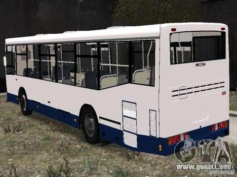 NEFAZ-5299 10-15 para GTA 4 Vista posterior izquierda